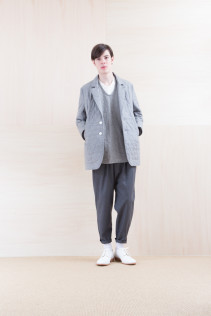 Jacket_ NA15-J187 CEJK-M 58,500yen+tax br; Shirts_ NA15-S68 SHPO 21,500yen+tax br; Pants_ NA15-P71 FLSL 26,000yen+tax br; Shoes_ FA15086 SIMPLICIA DURA-M 48,000yen+tax