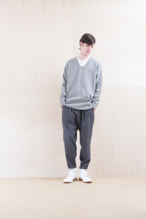 Shirts_ NA15-S68 SHPO 21,500yen+tax br; Pants_ NA15-P71 FLSL 26,000yen+tax br; Shoes_ FA15086 SIMPLICIA DURA-M 48,000yen+tax