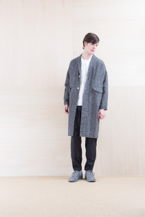Coat_ NA15-C61 LHCT 32,000yen+tax br;  Shirts_ NA15-S16 WDSH 19,500yen+tax br; Shirts_ NA15-S17 KMSH 19,000+tax br; Pants_ NA15-P71 FLSL 26,000yen+tax