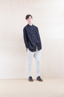 Shirts_ NA15-S36 CLGSH 21,000yen+tax br; Pants_ NA15-P101 WTPT 24,500yen+tax br; Shoes_ FA15056 REGALIA DURA-M 98,000yen+tax
