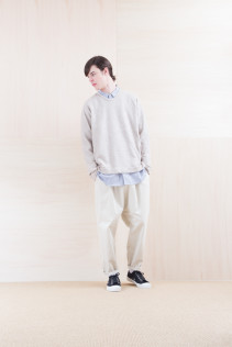 Cut&Sewn_ NA15-T82 GT144 16,000yen+tax br; Shirts_ NA15-S19 LGSH 21,000yen+tax br; Pants_ NA15-P141 CTSL 21,000yen+tax