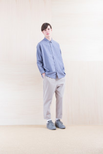 Shirts_ NA15-S19 LGSH 21,000yen+tax br; Pants_ NA15-P41 YGPT 21,500yen+tax