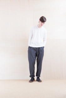 Cut&Sewn_ NA15-T57 BRT 11,000yen+tax br; Pants_ FA15021 LAT 19,500yen+tax br; Shoes_ FA15056 REGALIA DURA-M 98,000yen+tax