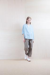 Shirts_ S15-S224 DPO7 14,500yen+tax br; Pants_ S15-P141 BGCN 23,500yen+tax br;