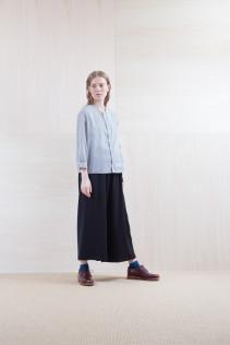 Shirts_ S15-S32 JMSH 18,000yen+tax br; Pants_ S15-P186 WDSL 22,000yen+tax br; Sox_ S15-SO251 Color heel sox 1,900yen+tax br; Shoes_ prototype