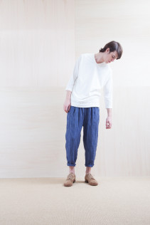 Cut&Sewn_ S15-T48 115T2p 10,500yen+tax br; Pants_ S15-P131 WEPT 24,000yen+tax