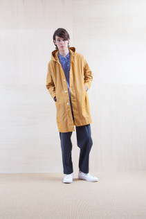 Coat_ S15-C83 FOCT 32,000yen+tax br; Shirts_ S15-S36 WDSH 19,000yen+tax br; Pants_ S15-P22 WDPT 23,500yen+tax