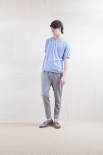 Cut&Sewn_ S15-T248 GZT-3 9,500yen+tax br; Pants_ S15-P185 SLMPT2 22,000+tax br; Shoes_ prototype