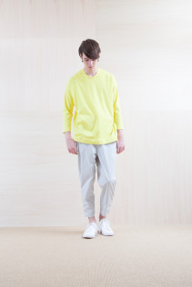 Cut&Sewn_ S15-T47 BOT2p 11,000yen+tax br; Pants_ S15-P82 CNSL 22,000yen+tax