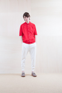 Shirts_ S15-S177 TWSH-5 19,500yen+tax br; Pants_ S15-P121 SWPT 19,500yen+tax br; Shoes_ prototype
