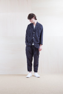 Coat_ S15-C156 WKCT 32,000yen+tax br; Pants_ S15-P155 BLSL 22,500yen+tax