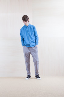 Shirts_ S15-S226 CCOSH 20,000yen+tax br; Pants_ S15-P111 SRPT 23,000yen+tax