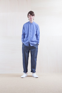 Shirts_ S15-S36 WDSH 19,000yen+tax br; Pants_ S15-P81 WDNM 22,000yen+tax